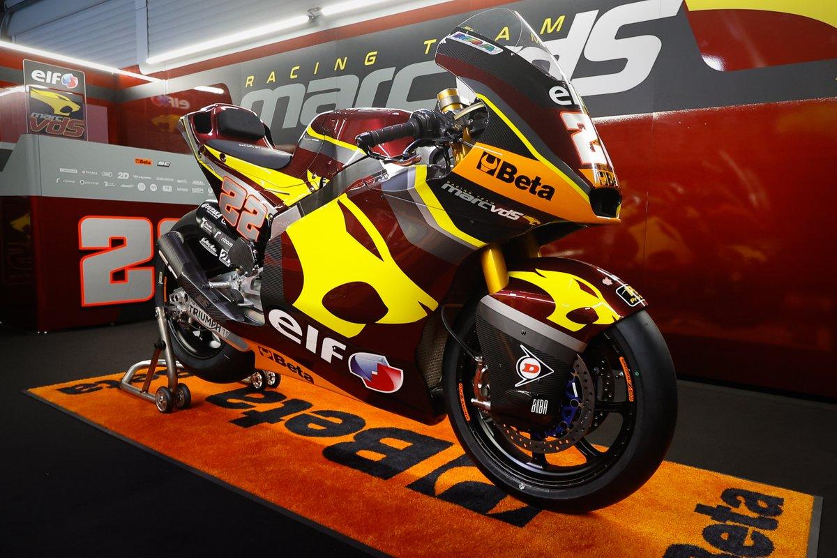 Bike of Sam Lowes, Marc VDS Racing