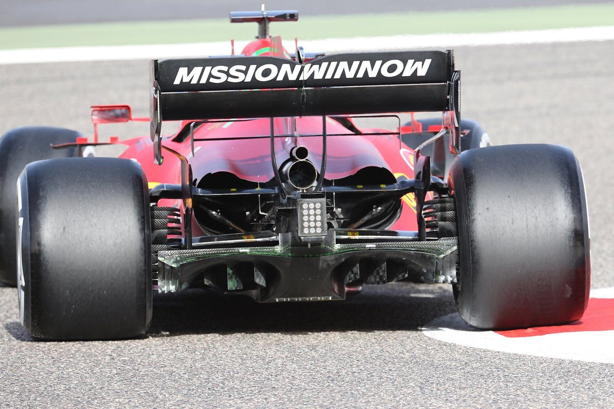 Ferrari SF21 rear detail