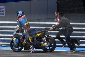 Alex Marquez, Marc VDS Racing, dopo la caduta