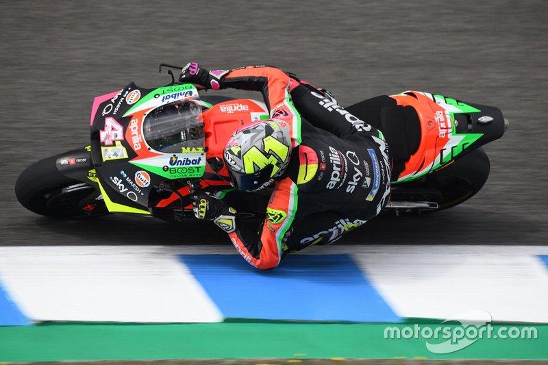 Aleix Espargaro, Aprilia Racing Team Gresini, confirmado para 2020