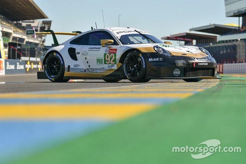 #92 Porsche GT Team Porsche 911 RSR: Мікаель Крістенсен, Кевін Естр, Лоран Вантор