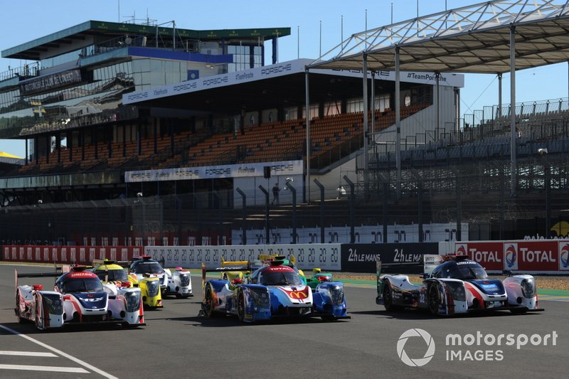 Ligier P2 cars at Le Mans
