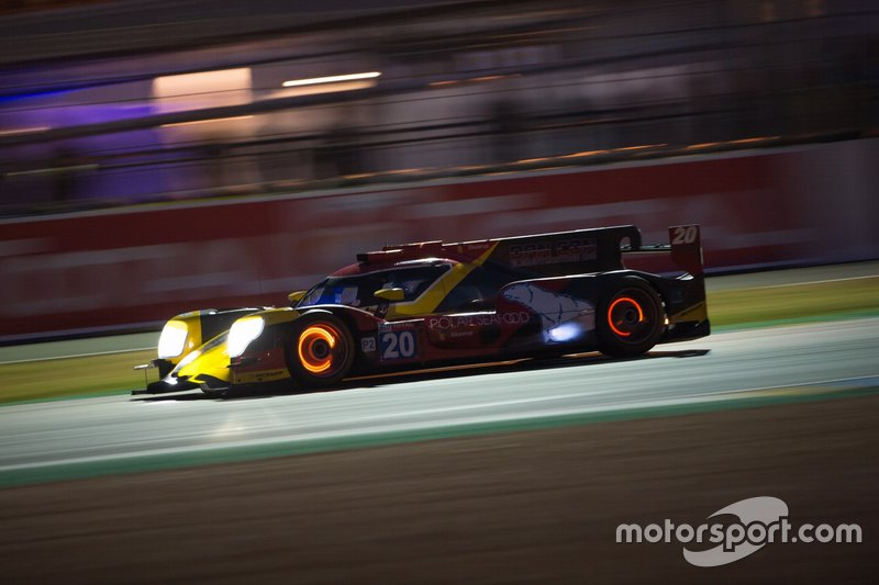 #20 High Class Racing Oreca 07 Gibson: Anders Fjördbach, Dennis Andersen, Mathias Bech