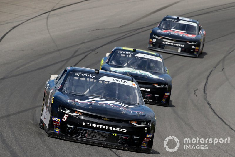 Matt Mills, B.J. McLeod Motorsports, Chevrolet Camaro J.F. Electric and Vinnie Miller, B.J. McLeod Motorsports, Chevrolet Camaro Koolbox
