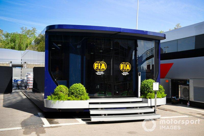 Motorhome de FIA