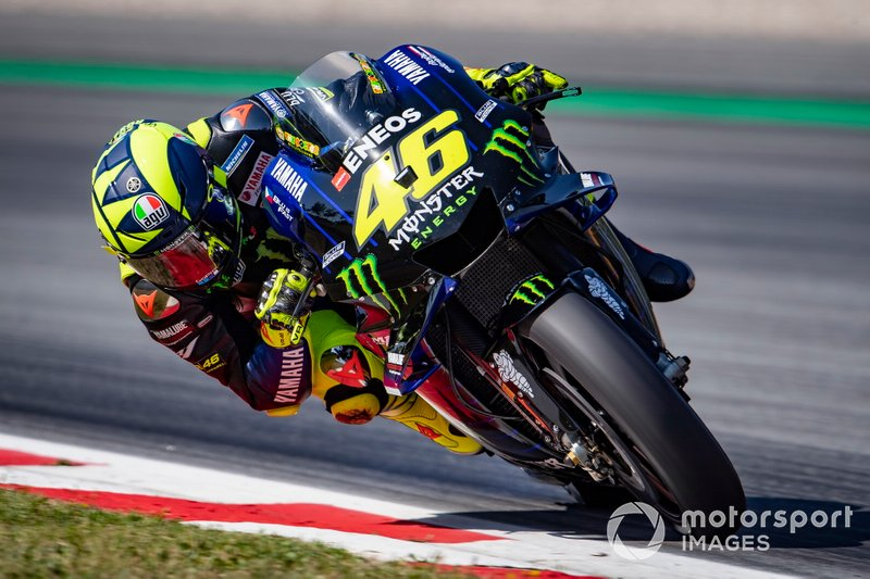 Valentino Rossi, Yamaha Factory Racing, sliding