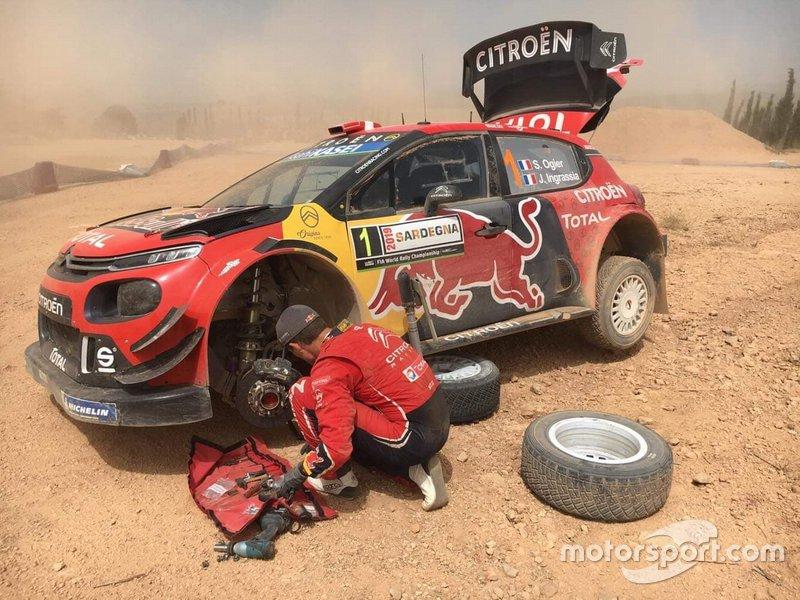 Sebastien Ogier, Rally Sardegna, Citroen C3 WRC