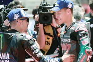 Maverick Vinales, Yamaha Factory Racing, Fabio Quartararo, Petronas Yamaha SRT