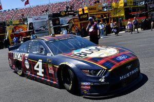 Kevin Harvick, Stewart-Haas Racing, Ford Mustang Busch Beer Flannel