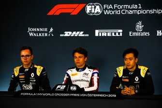 Anthoine Hubert, Arden, Nyck De Vries, ART Grand Prix, e Guanyu Zhou, UNI Virtuosi Racing Racing
