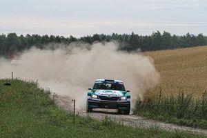 Mikołaj Marczyk, Szymon Gospodarczyk, Skoda Fabia R5, FIA ERC, Rally Poland