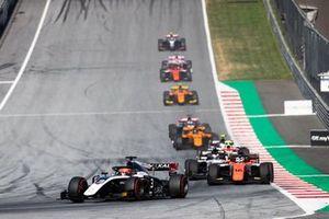 Nikita Mazepin, ART Grand Prix and Jordan King, MP Motorsport