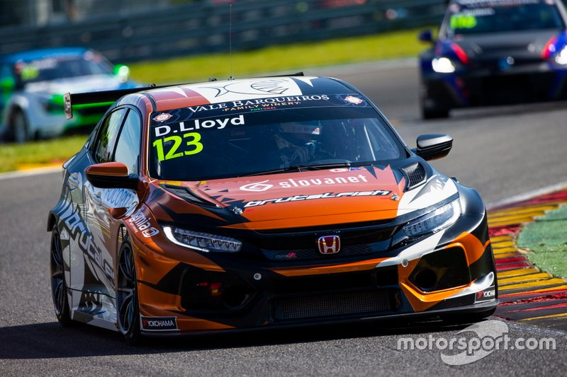 Daniel Lloyd, Brutal Fish Racing Team Honda Civic Type R