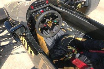 Detalle del Lotus 97T de Ayrton Senna