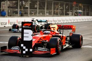 Sebastian Vettel, Ferrari SF90, après les qualifications