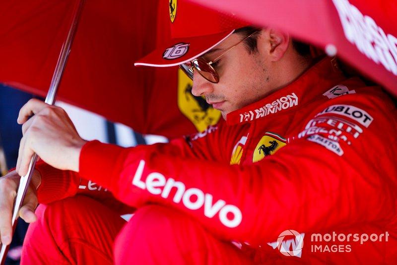 Azerbaïdjan - Charles Leclerc, Ferrari