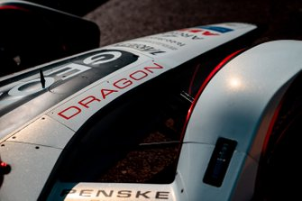 Car of Maximillian Gunther, GEOX Dragon Racing, Penske EV-3