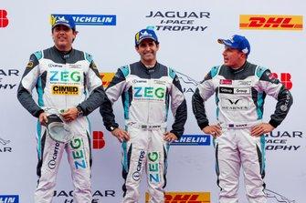 Left to right: Cacá Bueno, Jaguar Brazil Racing, Sérgio Jimenez, Jaguar Brazil Racing, Simon Evans, Team Asia New Zealand