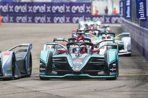 Mitch Evans, Panasonic Jaguar Racing, Jaguar I-Type 3, Maximillian Gunther, GEOX Dragon Racing, Penske EV-3