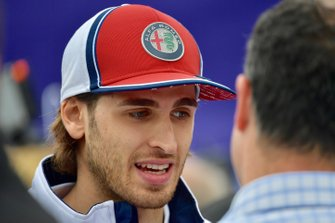 Antonio Giovinazzi, Alfa Romeo Racing talks to Ted Kravitz, Sky TV