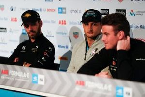 Mitch Evans, Panasonic Jaguar Racing, in the press conference