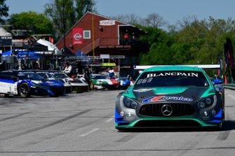 #63, Mercedes-AMG GT3, David Askew and Ryan Dalziel