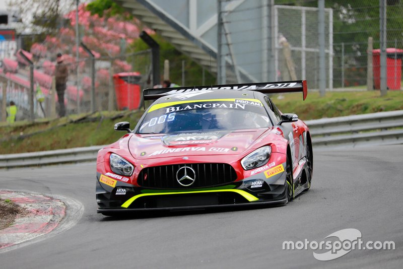 #87 Akka ASP Team Mercedes-AMG GT3: Jean-Luc Beaubelique, Jim Pla