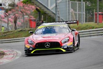 #87 Akka ASP Team Mercedes-AMG GT3: Jean-Luc Beaubelique, Jim Pla