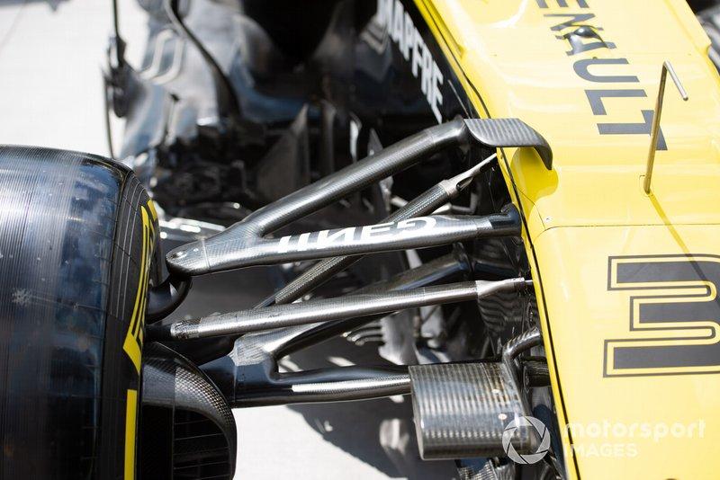 Renault R.S.19: Vorderradaufhängung