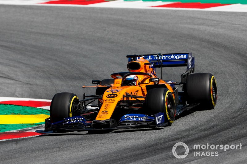 8 - Carlos Sainz Jr., McLaren MCL34