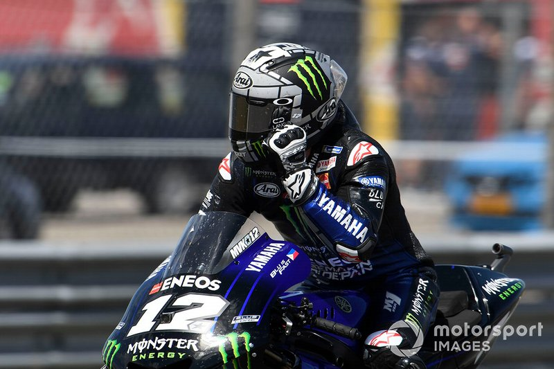 Ganador de la carrera Maverick Viñales, Yamaha Factory Racing