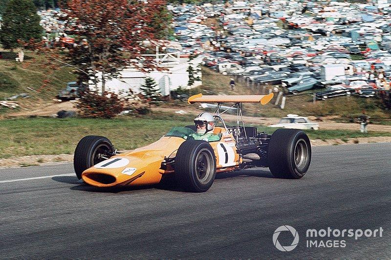 1968年:デニス・ハルム(マクラーレン)