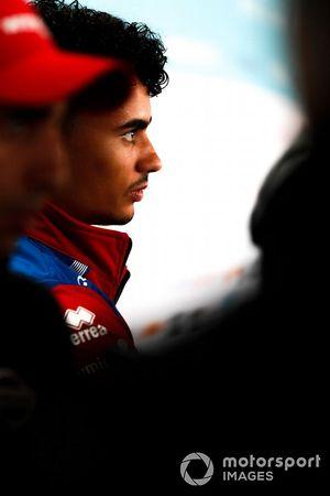 Pascal Wehrlein, Mahindra Racing, parla alla stampa