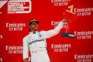 Zwycięzca wyścigu Lewis Hamilton, Mercedes AMG F1