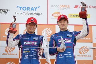 Podium: third place #6 Lexus Team LeMans Lexus LC500: Kazuya Oshima, Kenta Yamashita