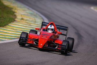 Nobre e o vermelho 7 que compartilha com o Seid. a bordo do carro Açaí! - Foto - Rodrigo Ruiz-F.Inter