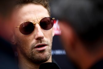 Romain Grosjean, Haas F1 con los medios