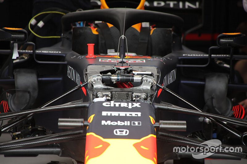 Red Bull technical detail