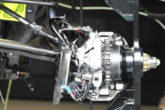 Mercedes bracket detail