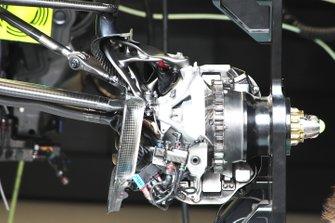 Mercedes bracket technical detail