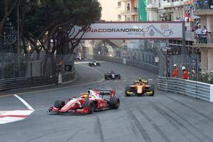 Mick Schumacher, Prema Racing and Jack Aitken, Campos Racing