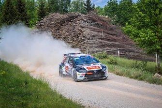 Oliver Solberg, Aaron Johnston, Volkswagen Polo R5, Rally Liepaja, FIA ERC
