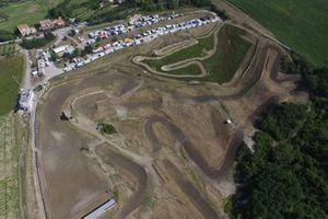 Panorámica de la pista de motocross de Cavallara
