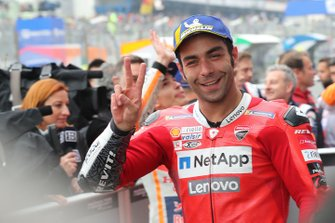 Second place Danilo Petrucci, Ducati Team