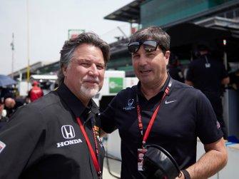 Michael Andretti, Mike Harding