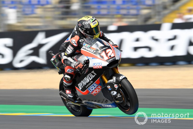 Thomas Luthi, Intact GP, French Moto2 2019