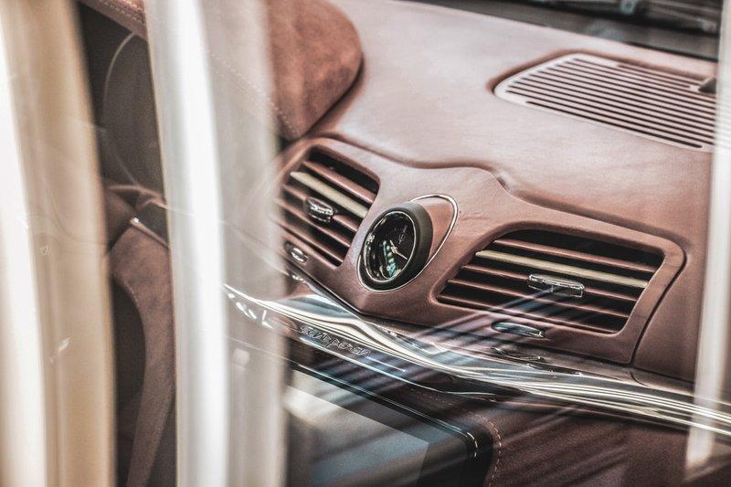 Touring Sciàdipersia Cabriolet, interni