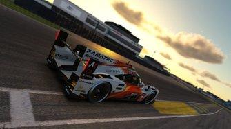 Max Verstappen, Atze Kerkhof, Marcus Jensen, Harrison Finch, Kazuki Oomishima, Team Redline Burst, iRacing 24 uur van Le Mans