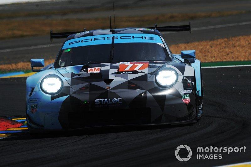 #77 Dempsey-Proton Competition Porsche 911 RSR: Matt Campbell, Christian Ried, Julien Andlauer