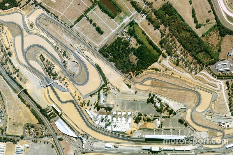 Bugatti circuit satellite view